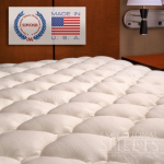 Bamboo Fitted Cooling Mattress Topper