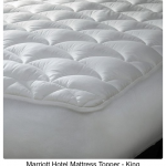 hotel mattress pad toppers